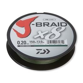 DAIWA J-Braid X8 0.56mm-1 m d.green