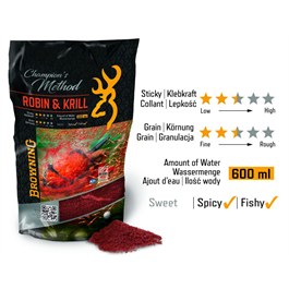 BROWNING Grundfutter Method Robin & Krill
