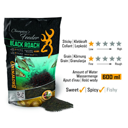 BROWNING Champion's Feeder Mix Black Roach black 1