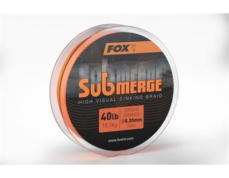 FOX Sub bright orange sink braid 600m 0.20mm